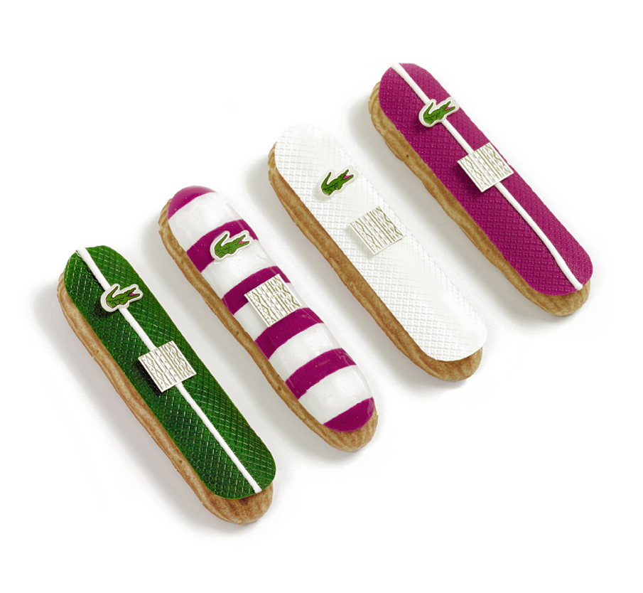 photo eclairs lacoste